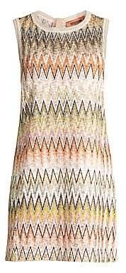 Missoni Women's Zigzag Knit Shift Dress