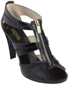 MICHAEL Michael Kors Berkley Patent Leather T-Strap Sandals