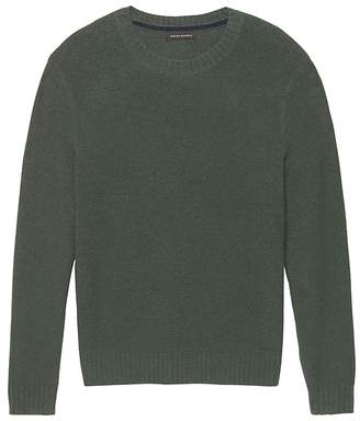 Banana Republic Terry-Knit Crew-Neck Sweater