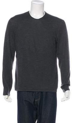 John Varvatos Merino Wool Crew Neck Sweater
