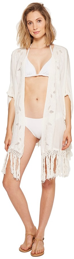 Roxy - Desert Oasis Kimono Cover-Up Women's Swimwear
