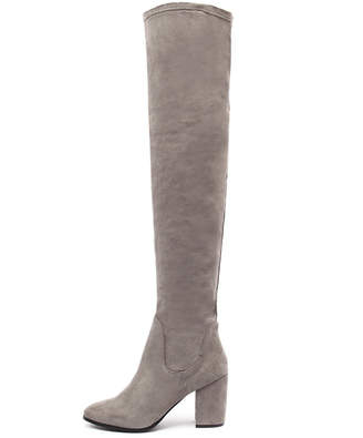 Therapy Hanover Grey Boots Womens Shoes Casual Long Boots