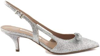 Roberto Festa Lorenza Pump In Silver Glitter