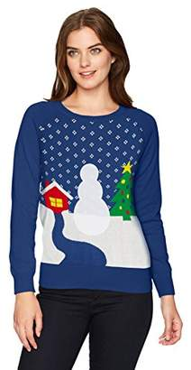 Hybrid Apparel Wome's Sowma Velcro Holiday Sweater