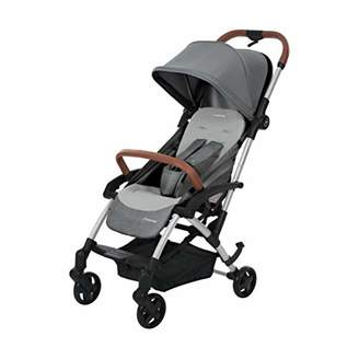 Maxi-Cosi Laika Baby Pushchair, Ultra Compact and Lightweight Stroller from Birth, Easy Fold, 0 Months-3.5 Years, 0-15 kg, Nomad Grey