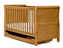 Mothercare Sleigh Cot Bed, Antique