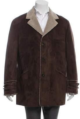Etro Faux Shearling Jacket