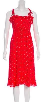 For Love & Lemons Midi Polka Dot Dress w/ Tags