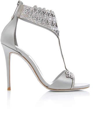 Rene Caovilla M'O Exclusive: Embellished T Strap Sandal