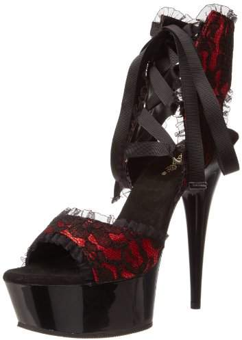 Pleaser USA Women's Delight-600-15L RSA Ankle Boot