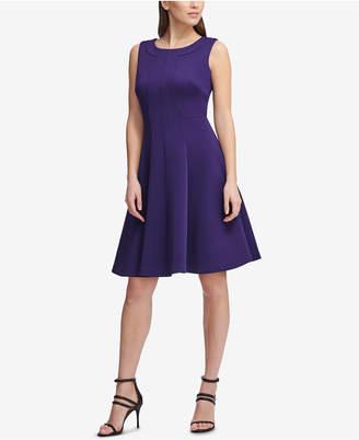 DKNY Sleeveless Fit & Flare Dress, Created for Macy's
