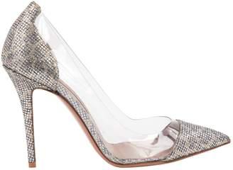 Vicedomini Silver Glitter Heels