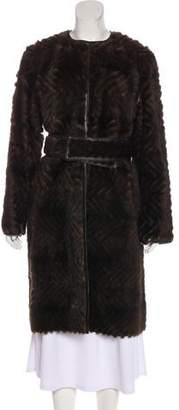 J. Mendel Reversible Mink Coat