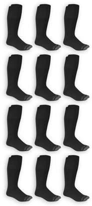 Fruit of the Loom Men's Dual Defense Tube Socks 12 Pairs
