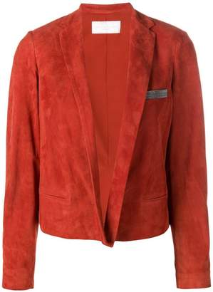 Fabiana Filippi short suede jacket
