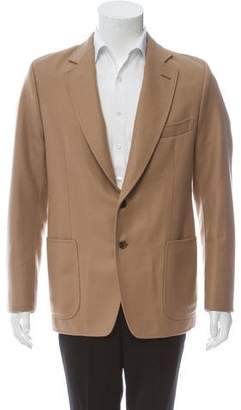Tom Ford Camel Two-Button Overcoat