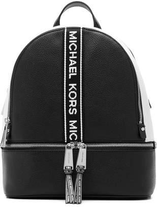 MICHAEL Michael Kors logo stripe backpack