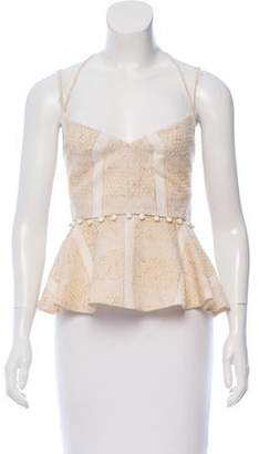 Prabal Gurung Embroidered Sleeveless Top