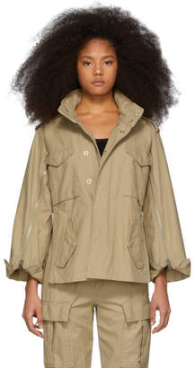 3.1 Phillip Lim Khaki Zip Field Jacket