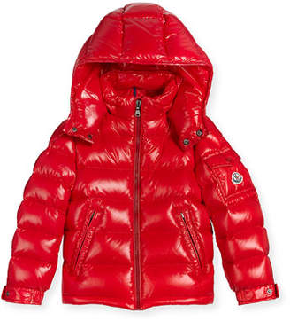 Moncler New Maya Puffer Coat, Size 8-14 $620 thestylecure.com