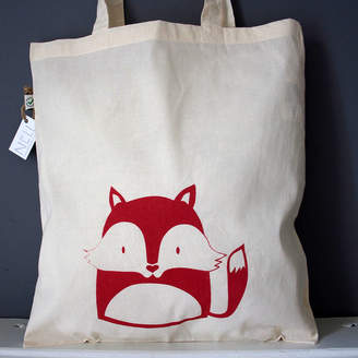 Nell Fox Organic Cotton Tote Bag