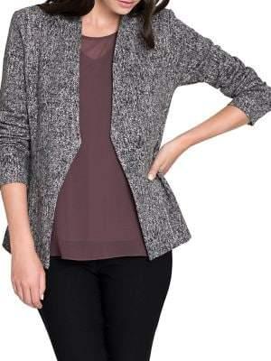 Nic+Zoe Jetset Open-Front Jacket