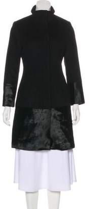 Dawn Levy Wool Knee-Length Coat