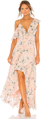 Yumi Kim Butterfly Maxi Dress