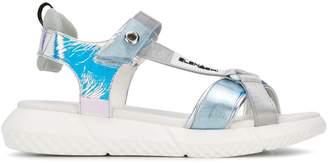 Elena Iachi chunky sole sandals
