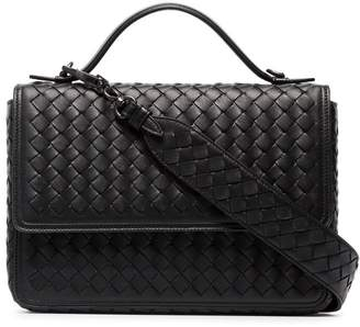 Bottega Veneta Black leather alumna shoulder bag