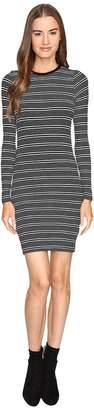 ATM Anthony Thomas Melillo Engineered Stripe Dress Women's Dress