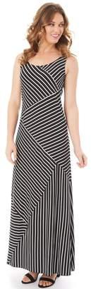 Apt. 9 Petite Mixed Stripe Maxi Dress