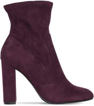 Steve Madden 100mm Editt Stretch Faux Suede Boots