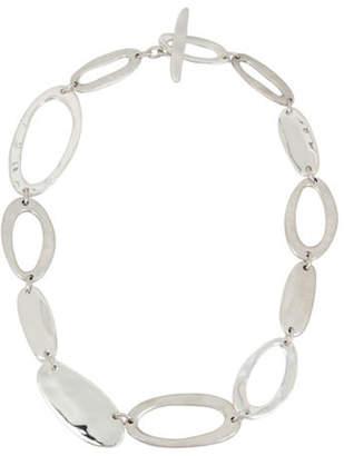 Robert Lee Morris SOHO Hammered Link Necklace