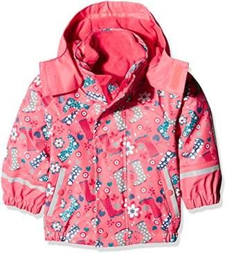 Sterntaler Baby Girls' Regenjacke Mit Innenjacke Rain Jacket