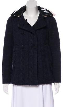 Prada Wool Knit Jacket
