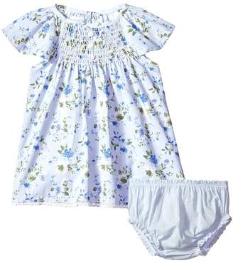 Mud Pie Floral Smocked Dress with Bloomers Girl's Dress