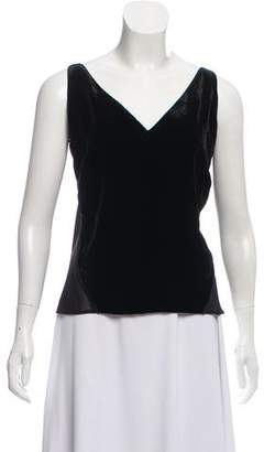J Brand Velvet Sleeveless Top