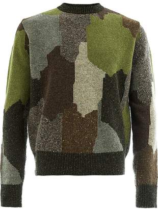Stella McCartney camouflage print jumper