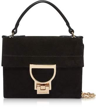 Coccinelle Mignon Suede Top-Handle Crossbody Bag