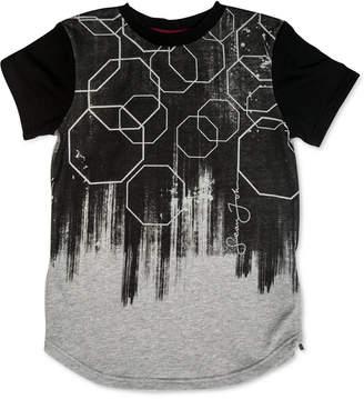 Sean John Big Boys Octagon Paint Roller T-Shirt