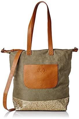 Le Temps Des Cerises Women's LTC4T8I Shoulder Bag Green