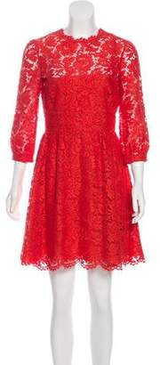 Valentino Lace Mini Dress