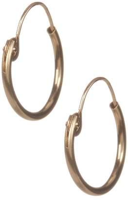 Candela 14K Yellow Gold 10mm Hoop Earrings