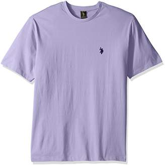U.S. Polo Assn. Men's Big and Tall Crew Neck Small Pony T-Shirt