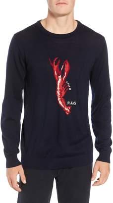 Rodd & Gunn Nautical Marine Extra Fine Merino Wool Sweater