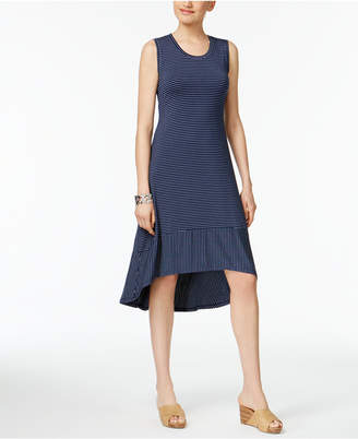 Style & Co Printed High-Low Dress, Created for Macy's $49.50 thestylecure.com