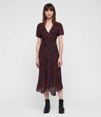 AllSaints Seeta Rosey Dress