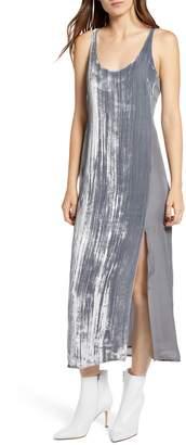 J Brand Alisha Velvet Tank Dress