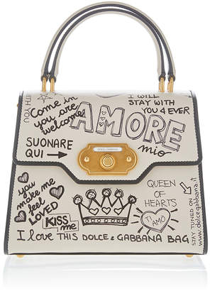 969d97e06d2a Dolce   Gabbana White Top Handle Handbags - ShopStyle
